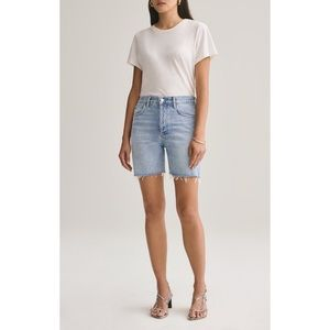 AGOLDE High Rise Mid-length Shorts